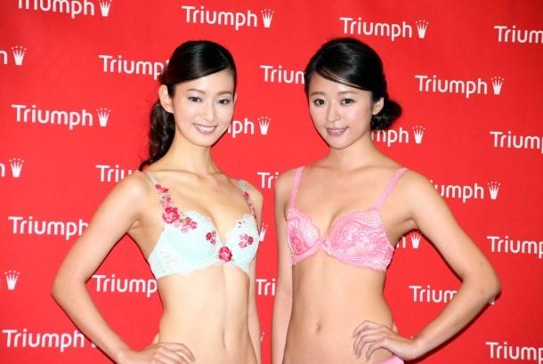 川辺優紀子ちゃんがトリンプイメージガールに選ばれましたよ!