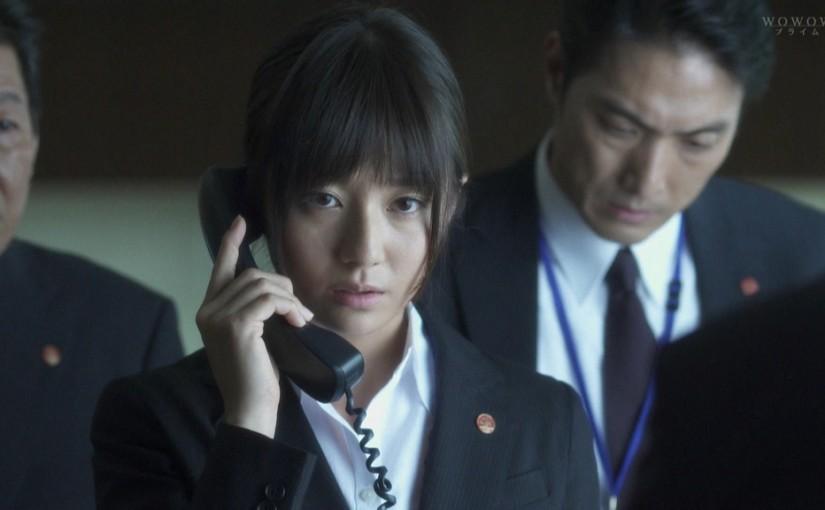 WOWOWのドラマ「石の繭」の木村文乃