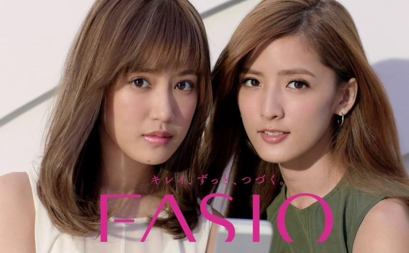 コーセーFASIOで見る萩花と夏恋の藤井姉妹