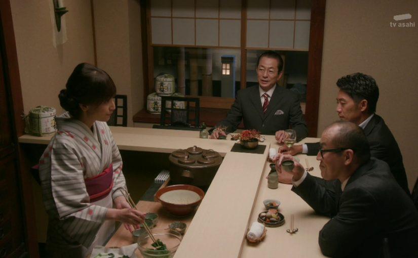 「相棒」の角田課長の回は女優が映えた