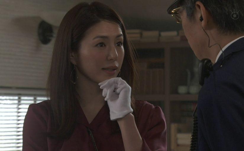貴族探偵に切子な井川遥の出番がやって来ました