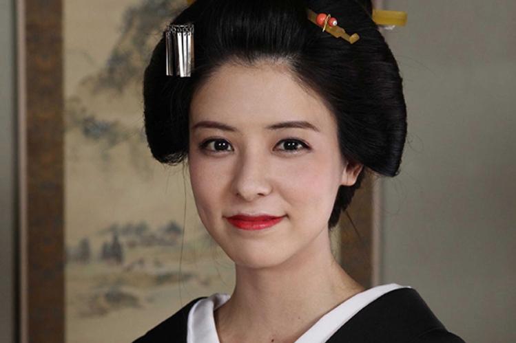 「私たちの薩長同盟」で幾松を演じる藤井美菜