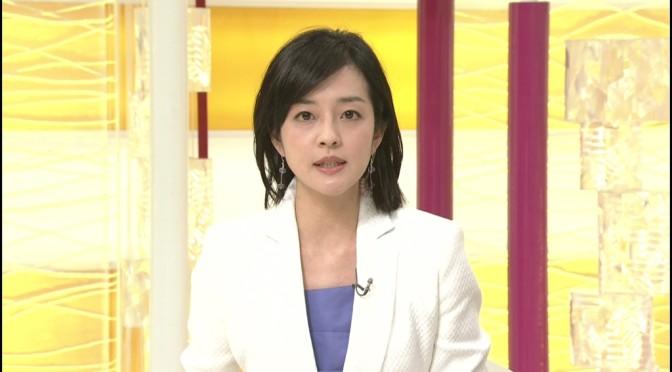 「ニュースウオッチ9」で見るイメチェンした鈴木奈穂子