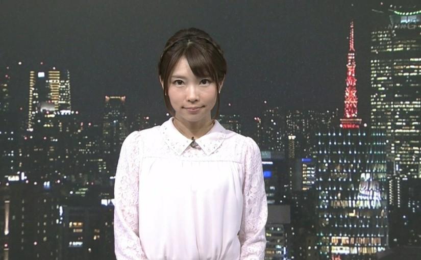 環水平アークと髪を編み込んだ寺川奈津美