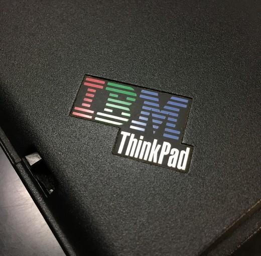 IBM印なThinkPadなら古くても触ってやれる
