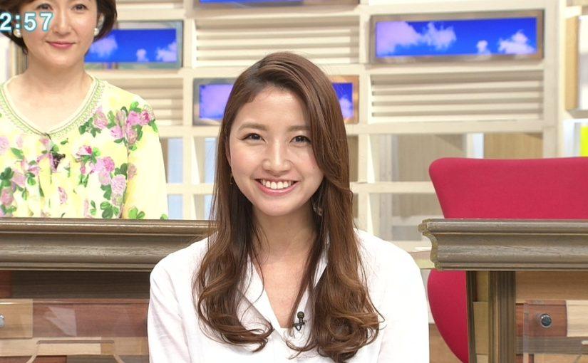 髪がいい感じな三田友梨佳ちゃん